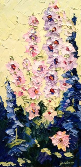 Joy for Weary Hours Oil on canvas, 12x24 Please contact me for price and delivery/shipping information!
