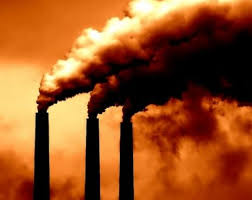 Fossil fuels are polluting the planet.