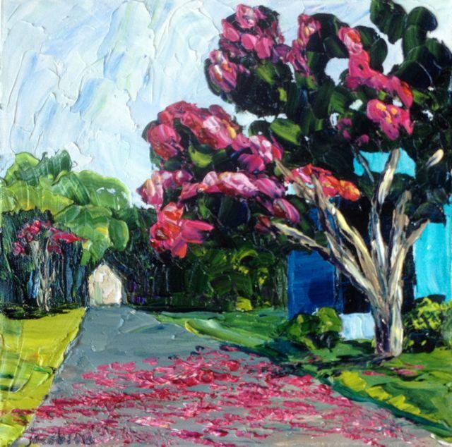 Pink Driveway