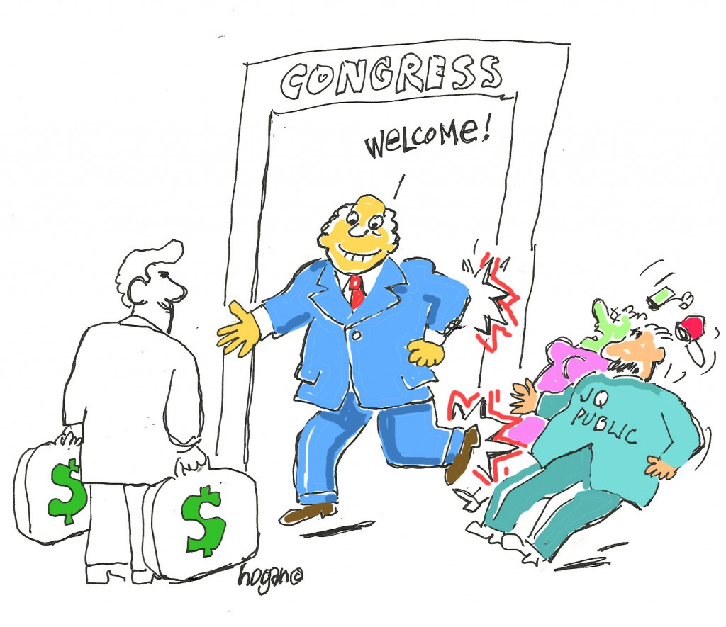 Congress greed