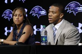 Ray Rice and Janay