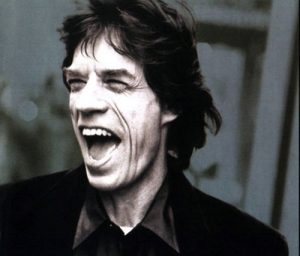 Mick Jagger ... proud papa to be, again