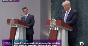 Mexican Preidnet Enrique Pena Nieto and Donald Trump ... a language barrier?