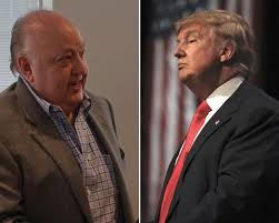 Roger Ailes and Donald Trump
