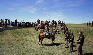 Face off at Standing Rock.