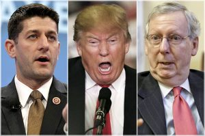 Ryan, Trump, McConnell ... the unholy alliance
