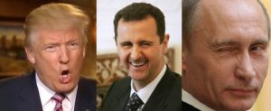 Trump, Assad and Putin