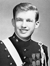 Cadet Donald Trump ... at NYMA