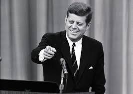 JFK ... at a press conference