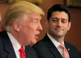 "Trump says it ... Ryan excuses it: ""He's new."""