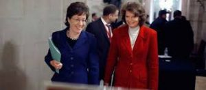 Sens. Susan Collins and Lisa Murkowski at work, governing.