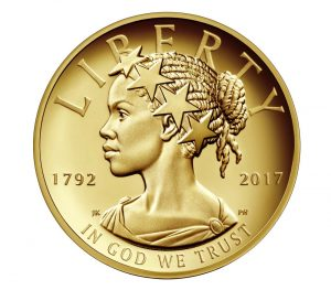 Lady Liberty ... courtesy of the U.S. Mint