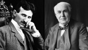 Nikola Tesla and Thomas Edison ... who are their 21st Century counterparts?