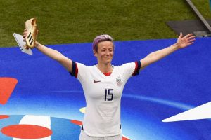 Megan Rapinoe ... she delivered