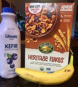Kefir and kamut, new breakfast entries for real people. Oh Gaydos photo