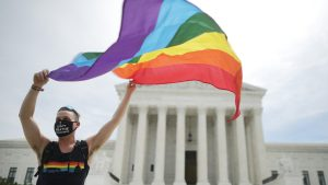The Supreme Court ruled that labor law protects LGBTQ rights.