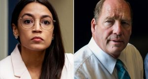 Alexandria Ocasio-Cortez and Ted Yoho