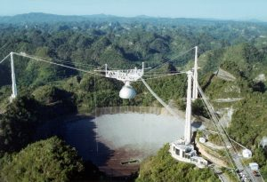 The Arecibo Observatory in Puertu Rico is being decommissioned.