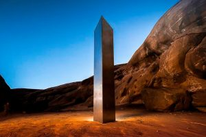 The monolith in Utah. The first three that have mysteriously appeared.