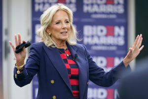Dr Jill Biden, a working teacher and soon to be First Lady.