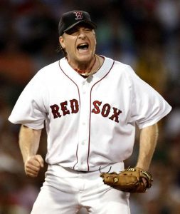 Curt Schilling ... never one to hide his feelings