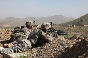 American troops are leaving Afghanistan.